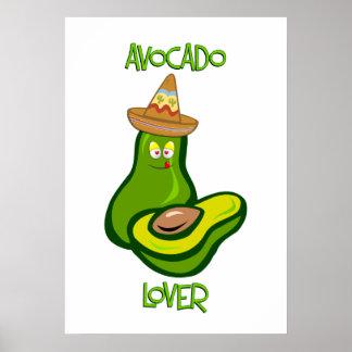 Avocado Lover Poster