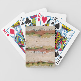 Avocado & Lox sandwich Bicycle Playing Cards