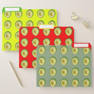 Avocado Menagerie 4Jackie File Folder
