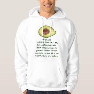 Avocado mens hoodie