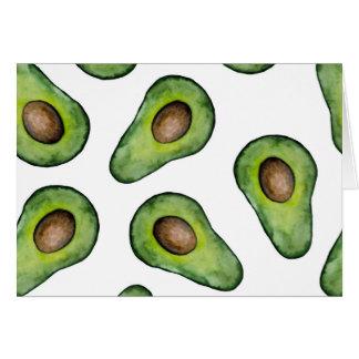 Avocado Note Card