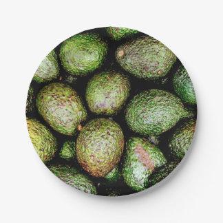 Avocado Paper Plates