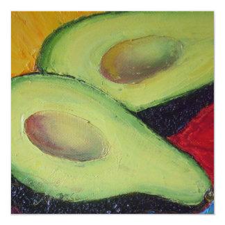 Avocado Party Invitation