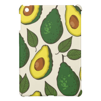 Avocado pattern case for the iPad mini