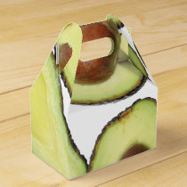 Avocado Pattern Favor Box