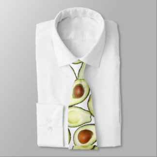 Avocado Pattern Neck Tie
