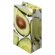 Avocado Pattern Small Gift Bag