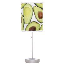Avocado Pattern Table Lamp