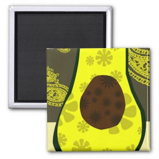 Avocado Pickle Magnet