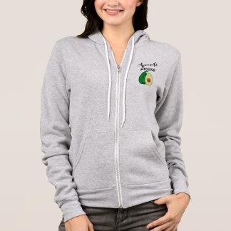 avocado please hoodie