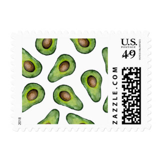 Avocado Postage Stamps