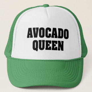 Avocado Queen funny trucker hat
