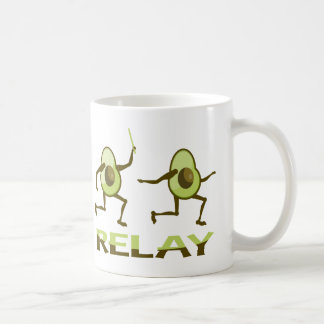 Avocado Relay Race Coffee Mug