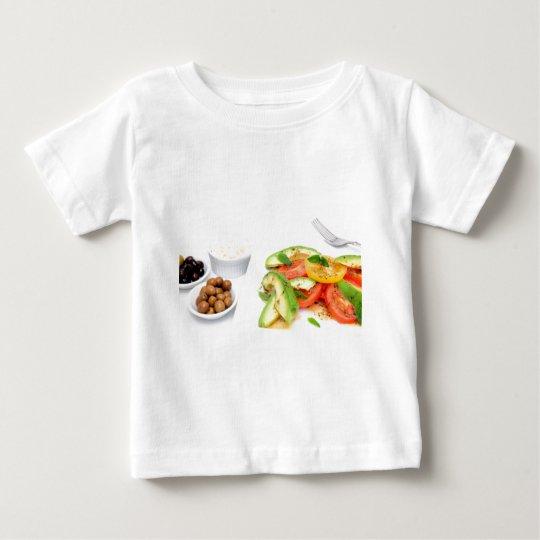 Avocado Salad And Olives Baby T-Shirt