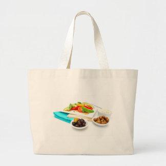 Avocado Salad Tote Bags