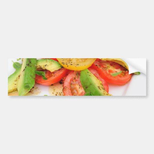 Avocado Salad Bumper Sticker