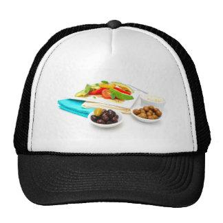 Avocado Salad Mesh Hat