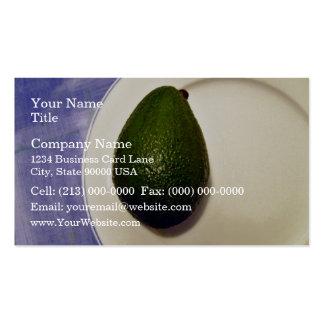Avocado Skin Texture Business Card