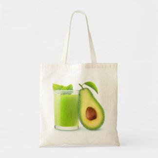 Avocado smoothie tote bag