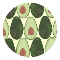 Avocado Sticker pattern