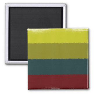 Avocado Sunrise | Customizable 2 Inch Square Magnet