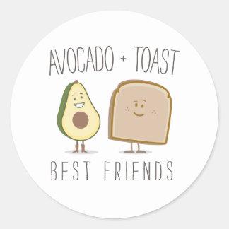 Avocado + Toast Best Friends Sticker