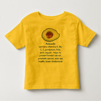 Avocado toddler shirt