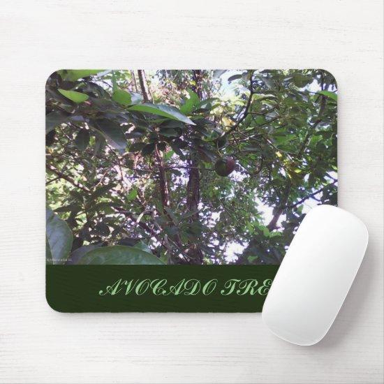 Avocado Tree Mouse Pad