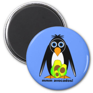 avocados 2 inch round magnet