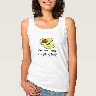 Avocados Make Everything Better Tank