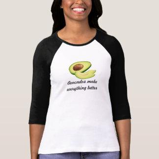 Avocados Make Everything Better Women's Bella 3/4 T Shirts