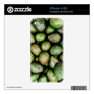 Avocados Skin For The iPhone 4