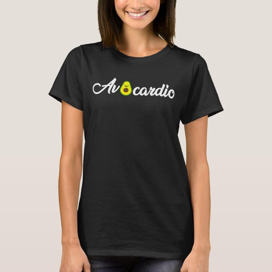 Avocardio, Vegan Gym, Avacodo Gift T-Shirt - Best Selling Long-Sleeve Street Fashion Shirt Designs