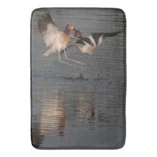 Avocet Birds Wildlife Animals Wetlands Bath Mat