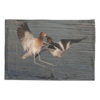 Avocet Shorebird Birds Animal Wildlife Pillowcase