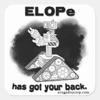 Avogadro Corp/ELOPe el pegatina (sin el arma)