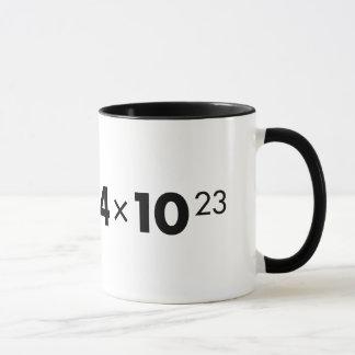 Avogadro's Number Mug