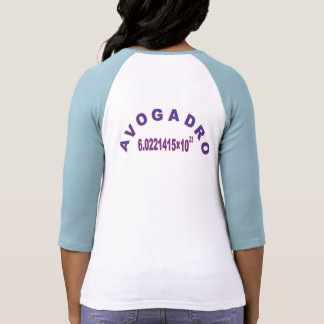 Avogadro's Number Tee Shirts