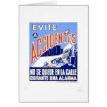 Avoid Accidents 1942 WPA