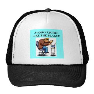avoid cliches trucker hat