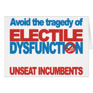 Avoid Electile Dysfunction Card