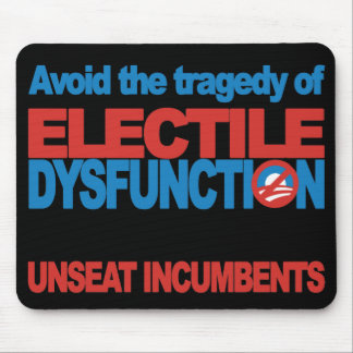 Avoid Electile Dysfunction Mouse Pad