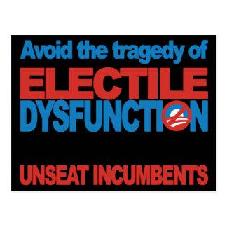 Avoid Electile Dysfunction Postcard