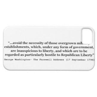 Avoid Overgrown Military Establishments Washington iPhone SE/5/5s Case