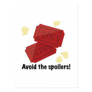 Avoid the Spoilers Postcards
