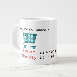 Avoid the Stampeds Large Coffee Mug
