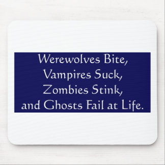 Avoid the Undead Mouse Pad