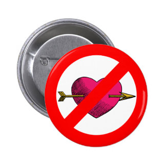 Avoid V-Day Pinback Button