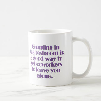 Avoiding Coworkers Coffee Mug