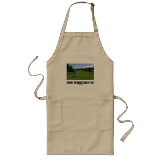 Avoiding The Bunkers Makes My Day (Golf) Long Apron